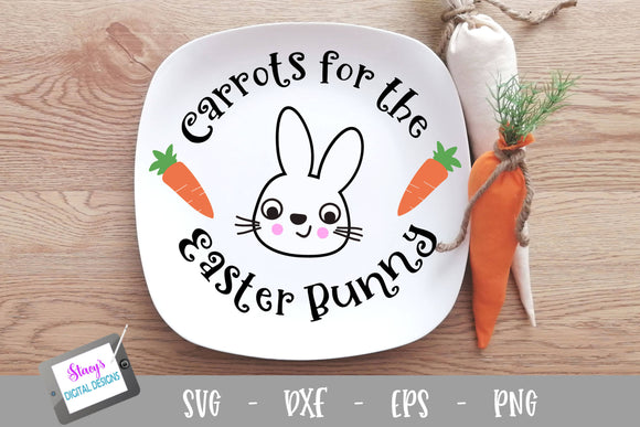 Easter SVG – Carrots for the Easter Bunny
