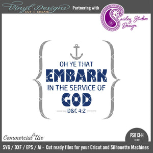 PS013H Embark in the Service of God