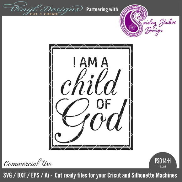 PS014H I Am a Child of God