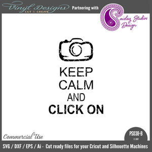 PS038B Keep Calm and Click On