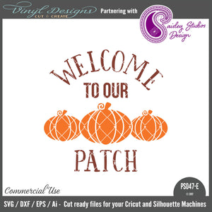 PS047E Welcome to our Patch