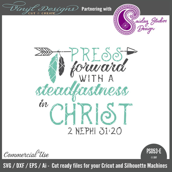 PS053E Press Forward with Steadfastness