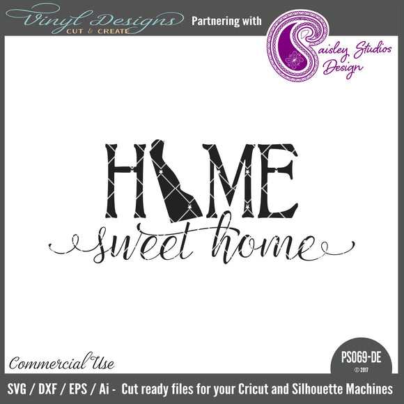 PS069DE Delaware Home Sweet Home