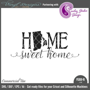 PS069RI Rhode Island Home Sweet Home