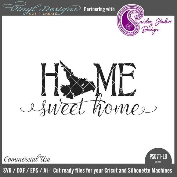 PS071LB Labrador ONLY Home Sweet Home