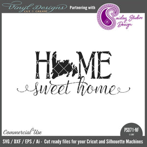 PS071NF Newfoundland ONLY Home Sweet Home