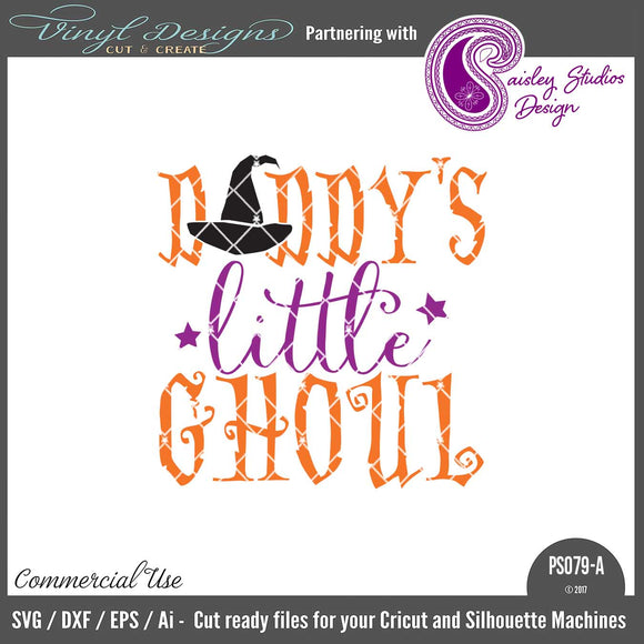 PS079A Daddy's Little Ghoul