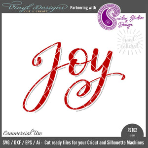 PS0102 Hand Lettered Joy