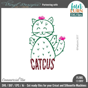 Catcus Cut File