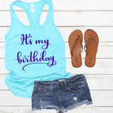 Birthday SVG - It's my birthday SVG - Handlettered