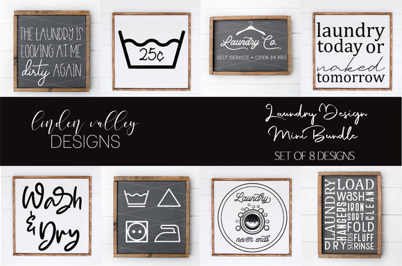 Laundry Mini Bundle|Farmhouse SVG|Laundry SVG