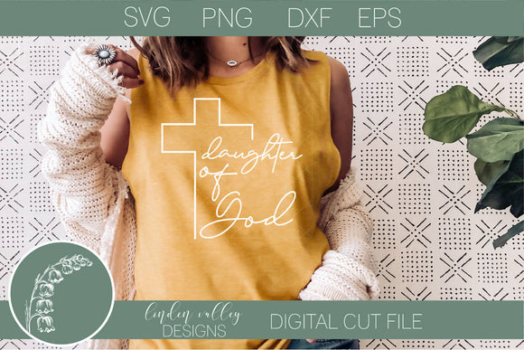 Daughter of God SVG|Scripture SVG|Bible Verse