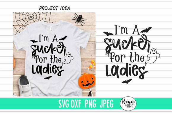 Sucker for the Ladies Halloween SVG