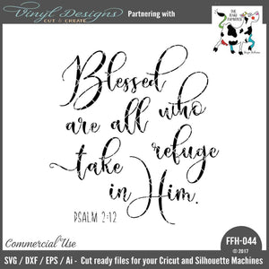 Blessed Are All Who Take Refuge