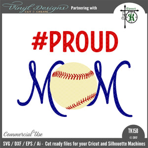 Proud Mom Baseball