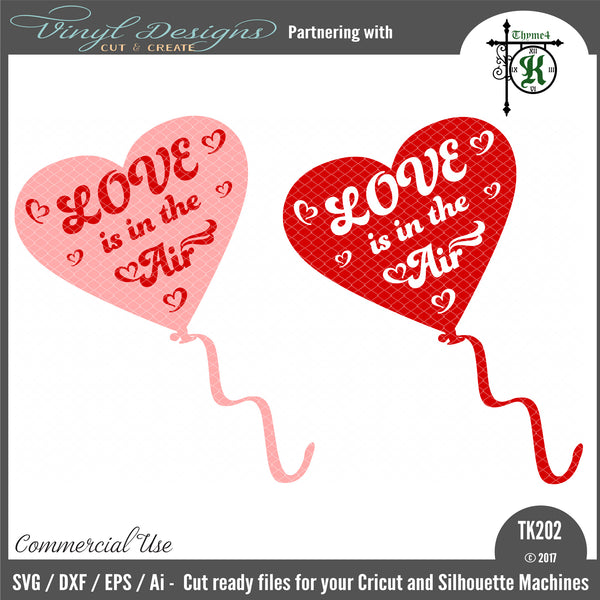 Love Is In The Air Svg Font Market