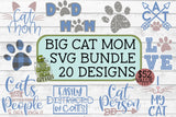 Cat Mom Big SVG Bundle