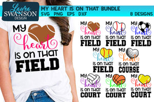 My Heart is on that… Sports Bundle