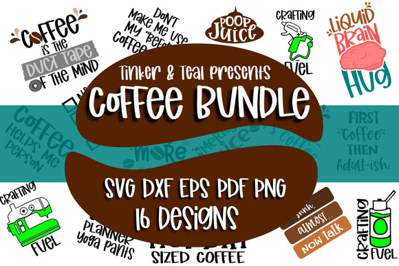 Coffee SVG Bundle