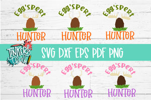 Eggspert Hunter SVG set