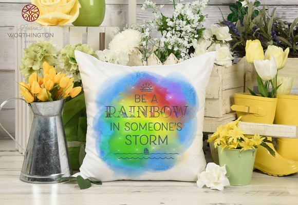 Be a Rainbow - Sublimation Printable Design