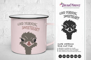 Good Morning Sweetheart SVG Cut File