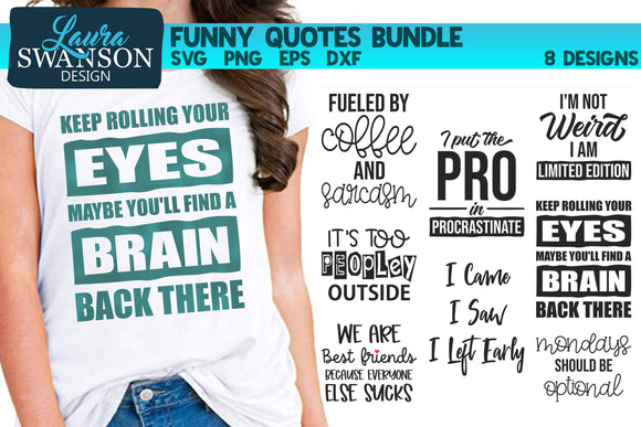 Funny Quotes Bundle