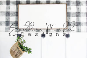 24X48 WOOD SIGN FARMHOUSE DIGITAL MOCK UP STOCK PHOTOGRAPHY
