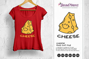 Cheese SVG - Say Cheese Illustration