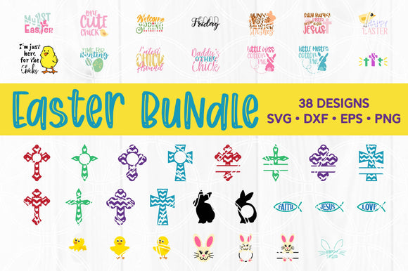 Easter Cut File Bundle