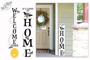 It's Good to bee home welcome to our hive SVG | DXF