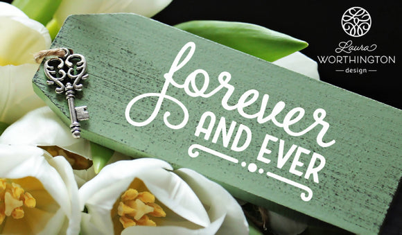 Forever and Ever - SVG | DXF Cut File