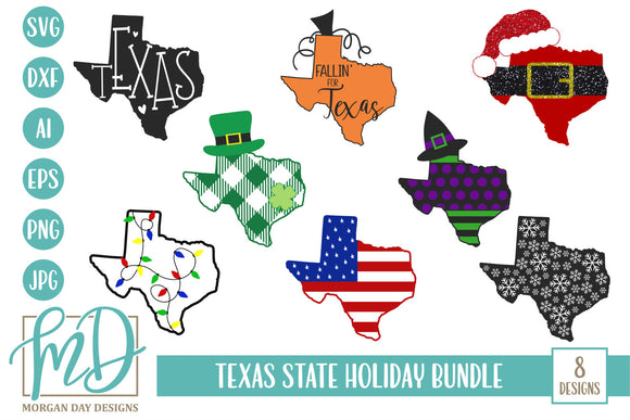 Texas State Holiday Bundle