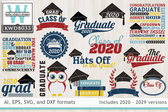 BUNDLE - Graduation SVG Bundle