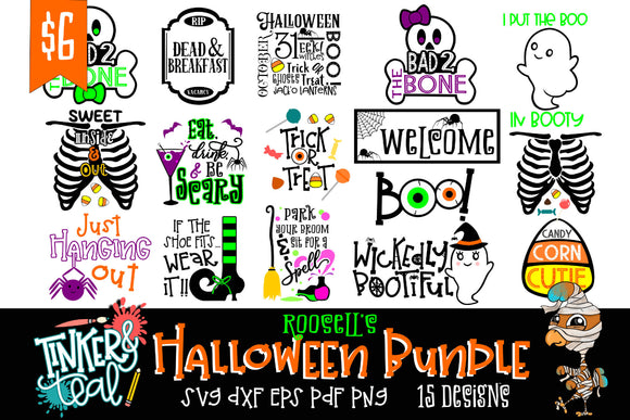 Roosell's Halloween SVG Bundle