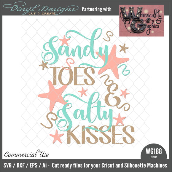 WG188 Sandy Toes and Salty Kisses