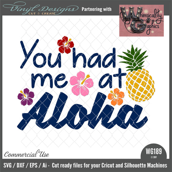 WG189 You Had Me at Aloha
