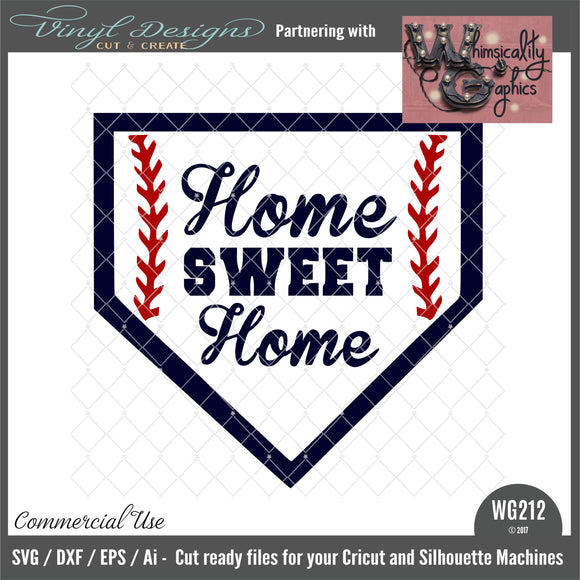 WG212 Home Sweet Home Plate