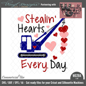 WG284 Stealin' Hearts Every Day