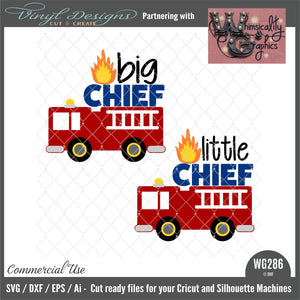 WG286 Little Big Chief Firetruck