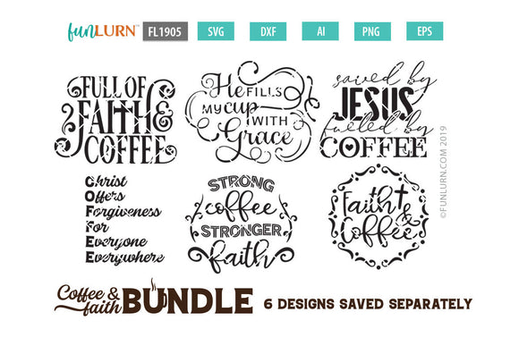 Coffee and Faith Bundle