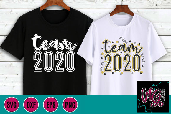 Team 2020 New Year's His and Hers Cut File