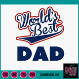 World's Best Dad Cut File WG157