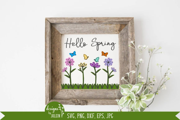 Spring Watercolor SVG
