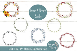 Frame Wreath Bundle