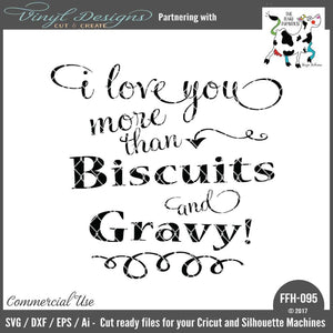 I Love You More than Biscuits and Gravy