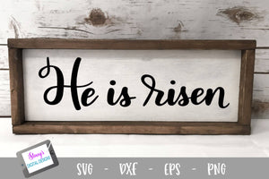 Easter SVG - He is risen SVG