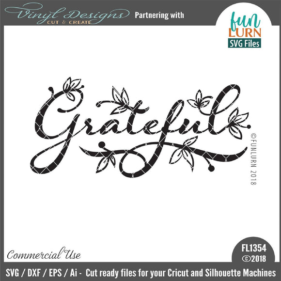 Grateful Cut File