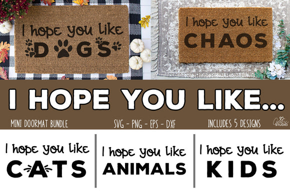 I Hope You Like - Door mat bundle