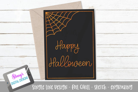 Foil Quill - Happy Halloween SVG - Sketch File